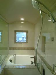 Eugene Steam Shower with Japanese Tub contemporary-bathroom