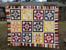 Kat & Cat Quilts: Country Home Quilt Finished & It's a happy Friday and I have a finish to show! The Country Home quilt is  finished and ready for action. (Look! I mitered my borders and everything!) Adamdwight.com