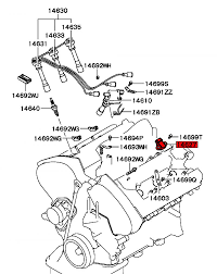 See here for where located on engine mitsubishi part number