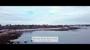 Tide Chart Odiorne Point Nh Odiorne Point And The Seacoast Science Center 21 Nov 2018 Post Snow Mavic Pro Flight