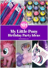 my little pony party favor idea