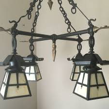 Arts And Crafts Mission Style Lighting Antique Mission Chandelier Art Deco Lamps Craftsman