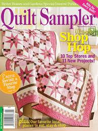 Quilt Sampler® Table of Contents Spring/Summer 2012 ... & Quilt Sampler® Table of Contents Spring/Summer 2012 Adamdwight.com
