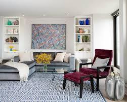 Velvet Living Room Furniture Living Room Horrible Interior Blue Rug In Velvet Sofa Also Black