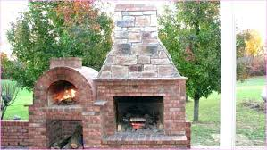 adorable combination plans outdoor fireplace pizza oven