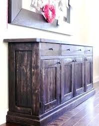 rustic sideboard buffet table do it yourself home projects from white sideboards and buffets