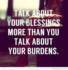Talk About Blessings Quote Hd On We Heart It Inspiration Blessings Quotes