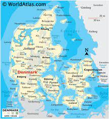 Denmark Maps & Facts - World Atlas