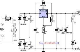 48v phantom microphone power supply circuit diagram 48v phantom power supply circuit project