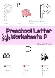 Preschool Letter N Worksheets