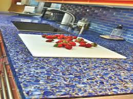 crushed glass countertops pros and cons new countertop trends in recycled glass kitchen countertops