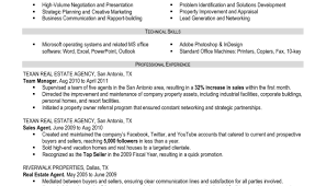 Resume For Real Estate Agent Housekeeping Porter Sample Resume