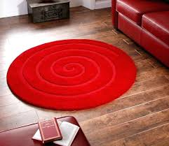 red circle rug area rugs round small size