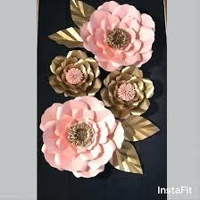 glass flower wall art vase