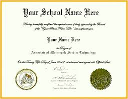 Free Homeschool Diploma Template 10 Homeschool High School Diploma Template
