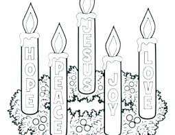 Advent Coloring Pages Wreath Advent Coloring Pages Advent Wreath