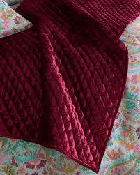 pine cone hillpatina velvet throw blanket