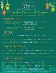 ramadan events and programs