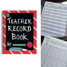 Teacher Record Details About Teacher Record Book Home School For Online Records