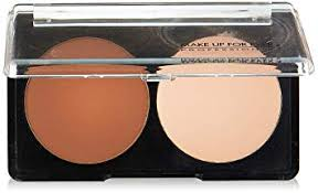 amazon make up for ever sculpting kit no 2 neutral light 0 17 ounce beauty