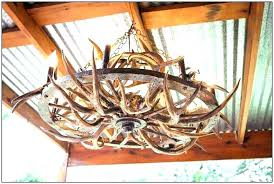diy antler chandelier how to make deer horn chandeliers faux a
