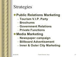 travel agency marketing plan business plan for arya travel agency