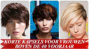 Moderne Korte Kapsels Voor Vrouwen Boven De 40 Voorjaar 2018