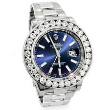 rolex diamond watches custom watches for men women mens rolex datejust custom diamond watch 7 5ct