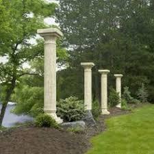 garden columns. Unique Garden Outdoor GreatRoom Company Tuscany Stone Finish Column  Arbors  ZoostoresPin2Win With Garden Columns 0