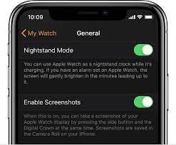 how to take a screenshot on apple watch