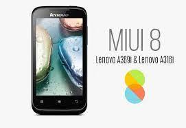 How to Install MIUI 8 on Lenovo A369i ...