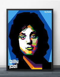 Shop official billy joel merch, vinyl records, shirts and more. Billy Joel In Wpap Pop Art Wall Art Paint Wall Decor Canvas Art Poster Oil Paintings For Living Room No Frame Painting Calligraphy Aliexpress