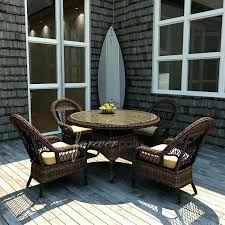 42 round patio table forever patio 4 person resin wicker patio dining set with inch glass 42 round patio table inch round glass table top