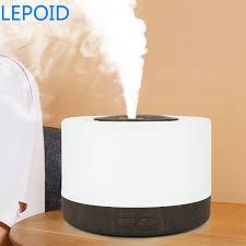 LEPOID 500ml Air <b>Humidifier Essential Oil Diffuser</b> Ultrasonic Mist ...