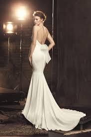 fitted cr pe wedding dress style 2090 mikaella bridal