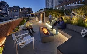 rooftop lighting. Lakefront Rooftop Yard Lighting