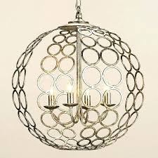sphere chandelier silver astounding chrome orb metal font lighting fo silver orb chandelier