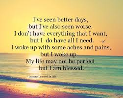 My Life May Not Be Perfect But I Am Blessed Pictures Photos And Fascinating My Life Is Not Easy Quotes