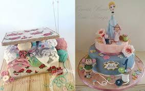 Sewing Knitting Crafting Cakes Cake Geek Magazine