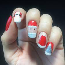 Christmas Hat Nail Design 10 Holiday Colors And Nail Design Ideas Christmas Nail Art