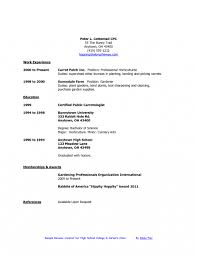 Teenage Resume Sample High School Student Sample Resume Samples For