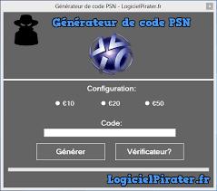 Gratuit Code De Psn - Générateur