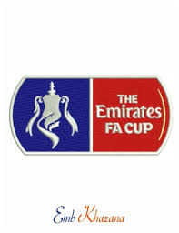 The football association challenge cup is a knockout cup competition in english football and is the oldest association football competition in the world. The Emirates Fa Cup Logo Embroidery Design