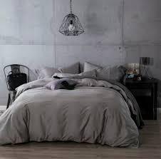 Luxury Dark Grey Egyptian Cotton Bedding sets sheets bedspread ... & Luxury Dark Grey Egyptian Cotton Bedding sets sheets bedspread King queen  size quilt duvet cover bedsheet Adamdwight.com