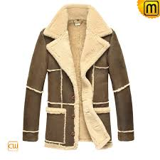 mens contrast leather fur coat jackets cwmalls com