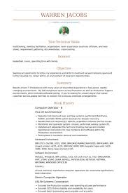 Non Technical Features ResumeIdeasco Simple Resume Features