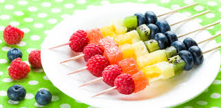 Rainbow Skewers A Fun And Healthy Party Or Lunch Box Food