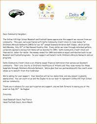 5 Sample Sponsor Thank You Letter Besttemplates Besttemplates