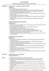 Water Resource Engineer Sample Resume Water Resources Engineer Resume Samples Velvet Jobs 10