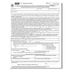 Hipaa Authorization Form Cool Hipaa Authorization Form Ny For Release Health Info Stupendous